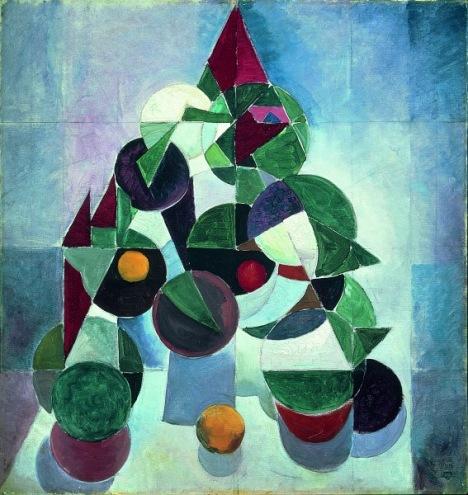 Theo van Doesburg Composition I (Still Life) 1916 Kröller-Müller Museum, Otterlo