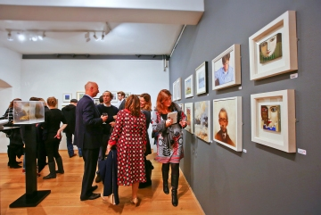 14.11.2013 - DiscerningEye, The Mall Galleries, photo by Cristina Schek (20)