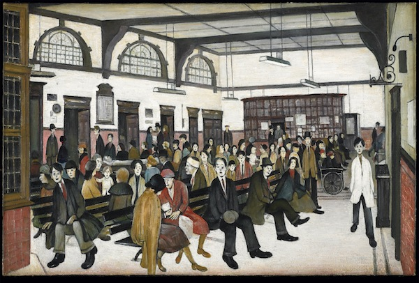 Ancoats Hospital Outpatients' Hall 1952, Whitworth Art Gallery, University of Manchester