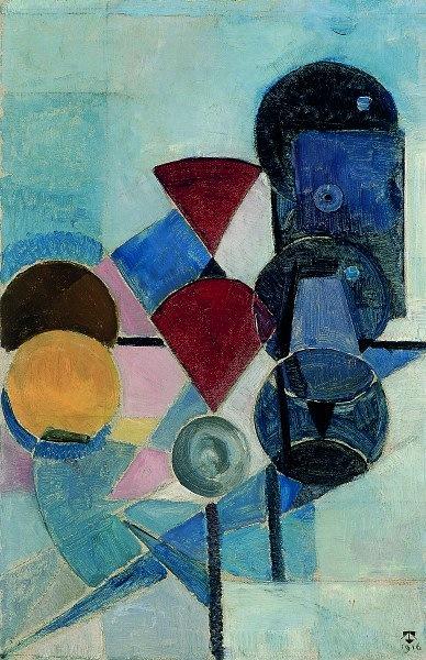 Theo van Doesburg Composition II (Still life) Museum Thyssen-Bornemisza, Madrid