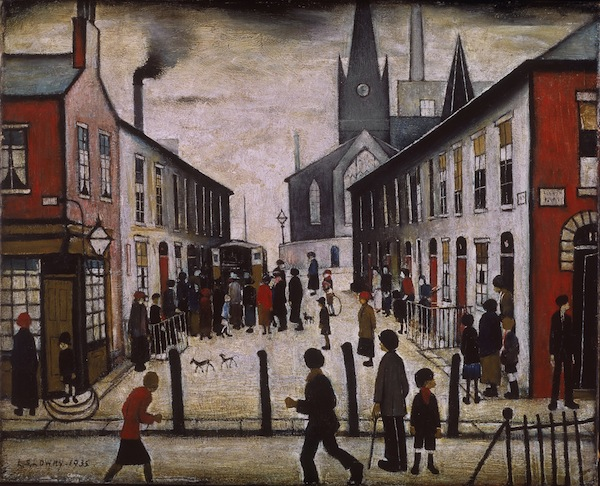 The Fever Van 1935 © The Estate of LS Lowry / Image courtesy of National Museums Liverpool