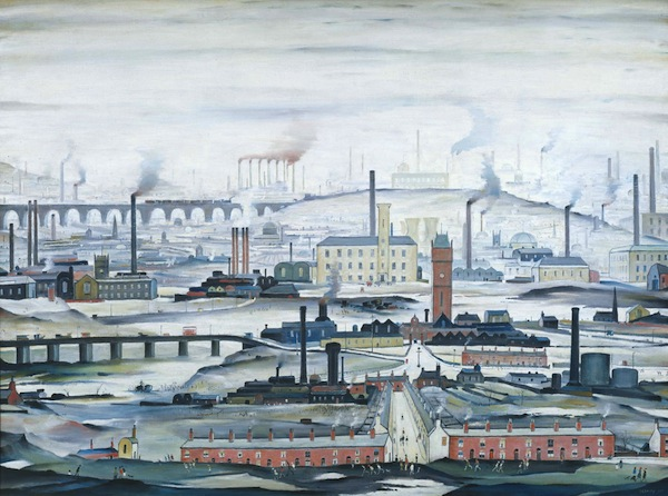 Industrial Landscape 1955 Tate © The Estate of L.S. Lowry